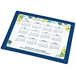 Brite-Mat Mousemat - Rectangular - Retro Calendar Design