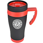 Matt Colour Trim Travel Mug