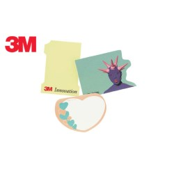 View a larger, more detailed picture of the DISC 3M Die Cut Post-it Notes