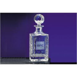 View a larger, more detailed picture of the Blenheim Lead Crystal Spirit Decanter