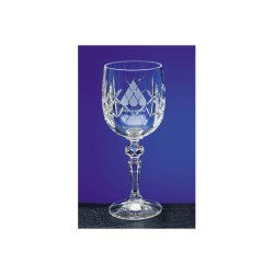 View a larger, more detailed picture of the Flamenco Crystal Panel Goblet