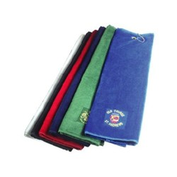 View a larger, more detailed picture of the DISC Luxury Tri-Fold Velour Towel