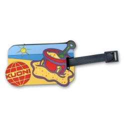 View a larger, more detailed picture of the 3D PVC Luggage Tag