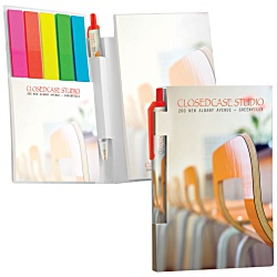 View a larger, more detailed picture of the BIC&reg Sticky Notes & Page Flags Booklet & Mini Pen