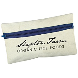 View a larger, more detailed picture of the Organic Canvas Pencil Case