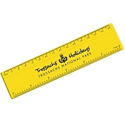 View a larger, more detailed picture of the Recycled Plastic Ruler - 15cm