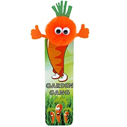 View a larger, more detailed picture of the Vegetable Bug Bookmarks - Carrot
