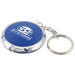 View a larger, more detailed picture of the Round Pocket Keyring Torch