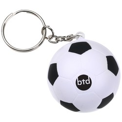View a larger, more detailed picture of the Stress Football Keyring