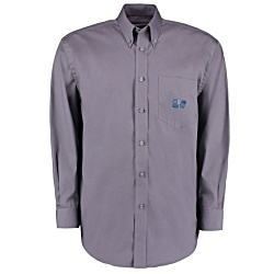 View a larger, more detailed picture of the Kustom Kit Mens Corporate Oxford Shirt - Long Sleeve
