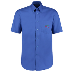 View a larger, more detailed picture of the Kustom Kit Mens Corporate Oxford Shirt - Short Sleeve