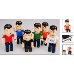 View a larger, more detailed picture of the 2gb USB People - Male