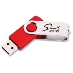 View a larger, more detailed picture of the 512mb Twister Promotional Flashdrive