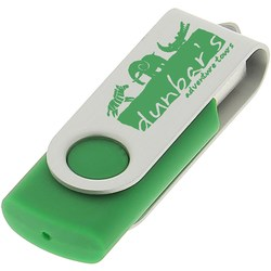 View a larger, more detailed picture of the 1gb Twister Promotional Flashdrive