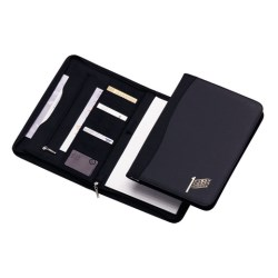 View a larger, more detailed picture of the Ambassador A4 Zipped Conference Folder - 2 Day