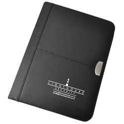 View a larger, more detailed picture of the DISC Tycoon Leather Zip Round Folder