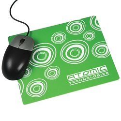 View a larger, more detailed picture of the Brite-Mat Mousemat - Rectangular - Spiro Design