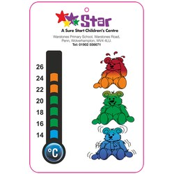 View a larger, more detailed picture of the Children s Room Thermometer