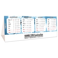 View a larger, more detailed picture of the DISC Tri Fold Desk Calendar