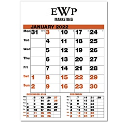 View a larger, more detailed picture of the Date Finder Calendar