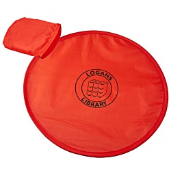 View a larger, more detailed picture of the Fold Up Frisbee