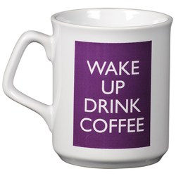 View a larger, more detailed picture of the Sparta Mug - White - Wake Up Design