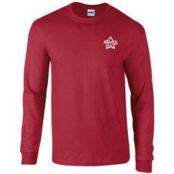 View a larger, more detailed picture of the Gildan Ultra Long Sleeve Tee - Coloured