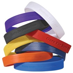 View a larger, more detailed picture of the Children s Silicone Wristband