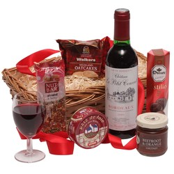 View a larger, more detailed picture of the  Sweet and Savoury Classic Hamper