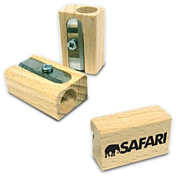 View a larger, more detailed picture of the Wooden Pencil Sharpener