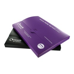 View a larger, more detailed picture of the DISC Recycled A5 Polypropylene Document Wallet