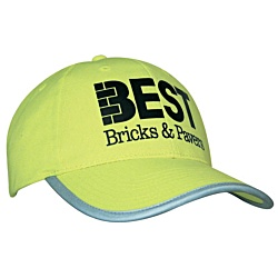 View a larger, more detailed picture of the Hi Vis Baseball Cap
