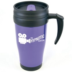 View a larger, more detailed picture of the Colour Tab Promotional Travel Mug