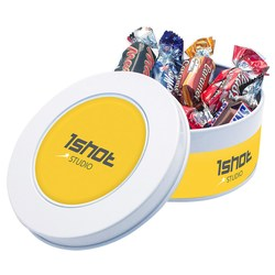 View a larger, more detailed picture of the Treat Tin - Celebrations