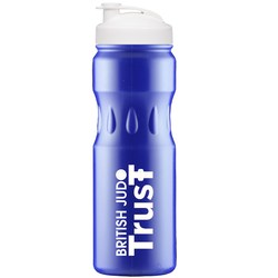 View a larger, more detailed picture of the 750ml Teardrop Sports Bottle - Flip Cap