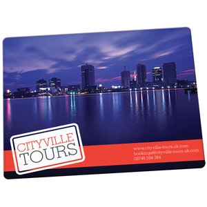 Brite-Mat Mousemat - Rectangular - Full Colour Main Image