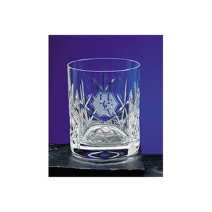 Flamenco Lead Crystal Panel Whisky Tumbler Main Image