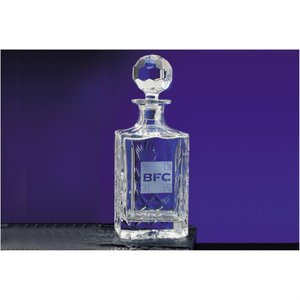 Blenheim Lead Crystal Spirit Decanter