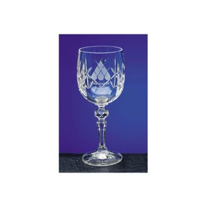 Flamenco Crystal Panel Goblet