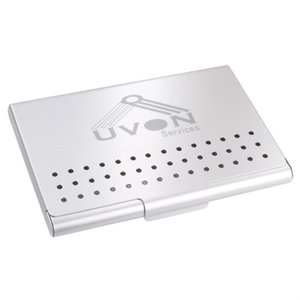 DISC Metal Business Card Holder