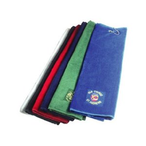 DISC Luxury Tri-Fold Velour Towel Main Image