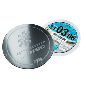 DISC Metal Tax Disc Holder