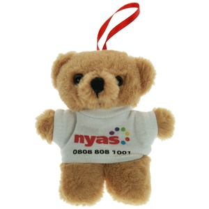 10cm Tiny Teddy with T-Shirt Main Image