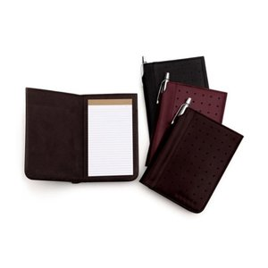 DISC Cross Leather Jotter with Pad Main Image