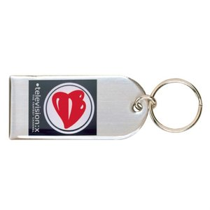 Printed Steel Keyring - Large Main Image