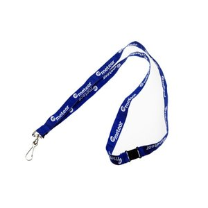 DISC 15mm Woven Lanyard 2 Sides Main Image