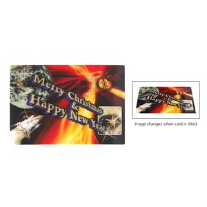 Large Lenticular Business Card
