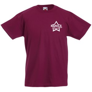 Fruit of the Loom Kid's Value Weight T-Shirt - Coloured Main Image