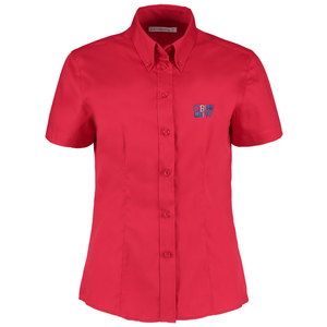 Kustom Kit Lady Fit Corporate Oxford Shirt - Short Sleeve Main Image