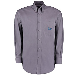 Kustom Kit Mens Corporate Oxford Shirt - Long Sleeve Main Image